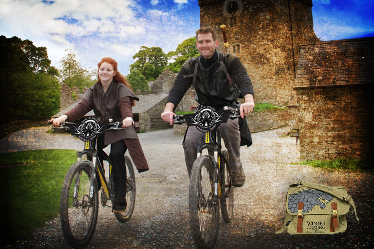 Game of Thrones Bicycle Tour - Explore the Winterfell Set