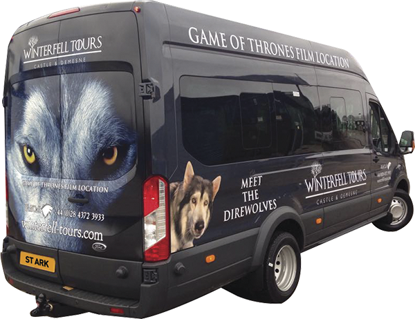 Winterfell Tours Bus