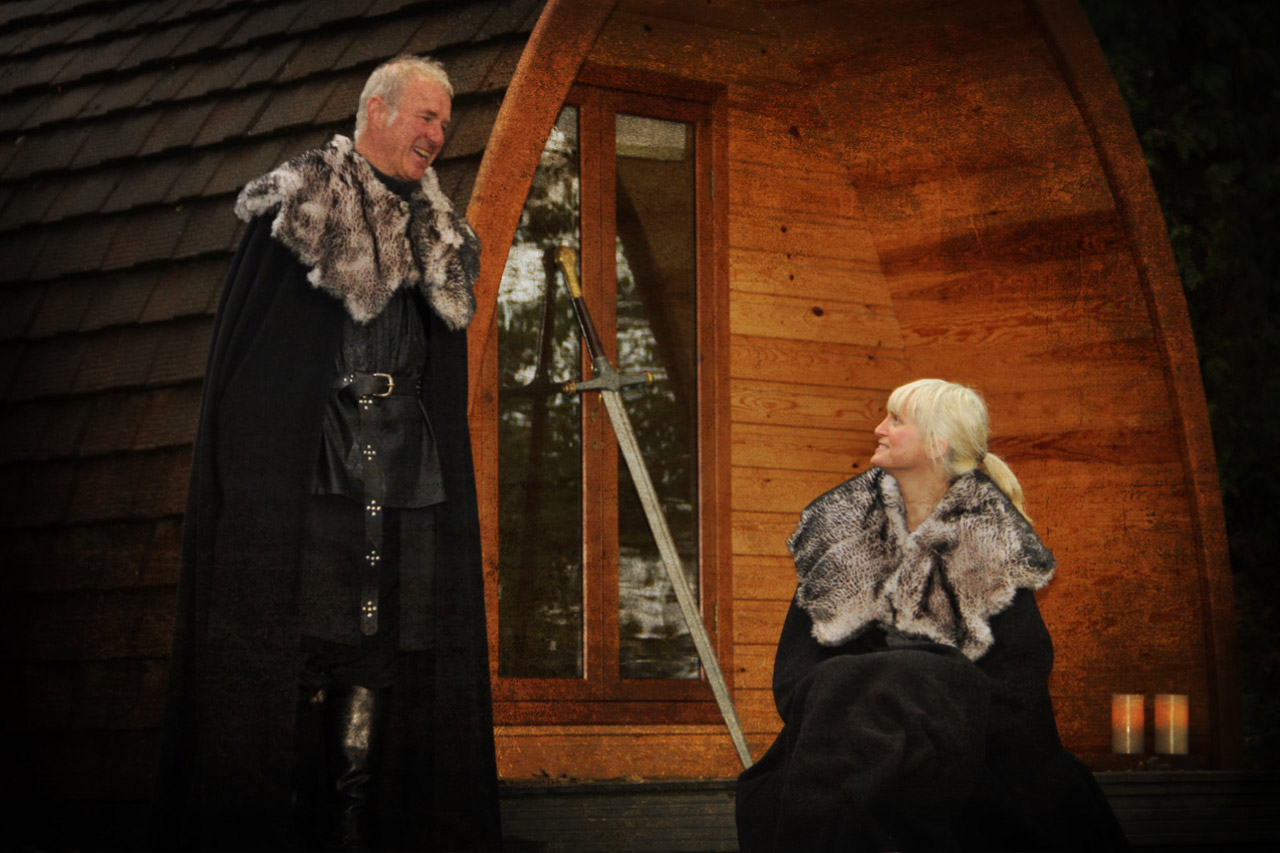 Game of Thrones tour glamping