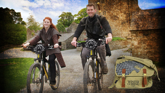 Game of Thrones tour by bicycle