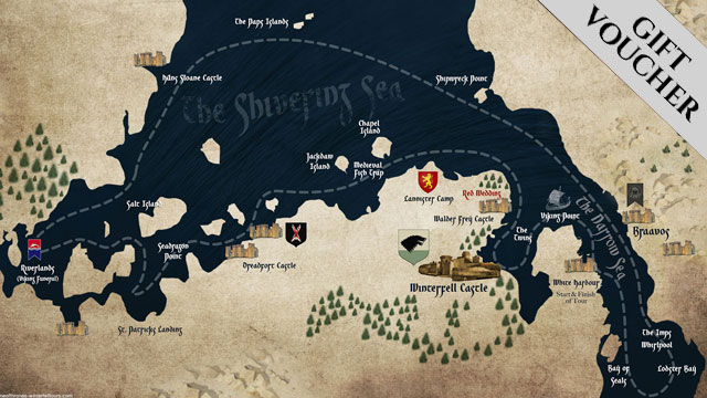 Castles of Westeros Boat Tours