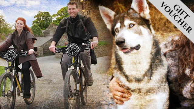 Cycle & Direwolf Encounter